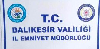 Uyuşturucu Madde Ticareti: Balıkesir'de uyuşturucu operasyonu