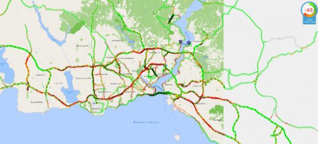 Hafta sonu kısıtlamasına saatler kala İstanbul'da trafik kilitlendi