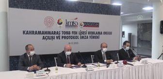 Mehmet Cihat Sezal: KAHRAMANMARAŞ - 'Kodlama Okulu' açıldı