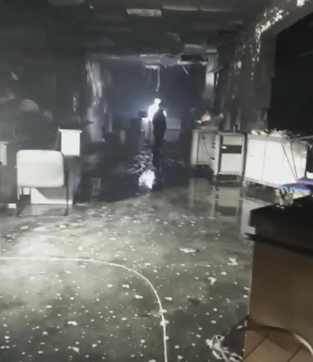 8 kişi hayatını kaybetmişti! Gaziantep'te koronavirüs yoğun bakım servisindeki patlama sonrası ilk görüntüler