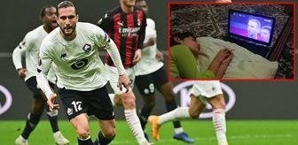 Yusuf Yazıcı: Kendi maçını izlerken uyuyakalan taraftar için Yusuf'tan duygusal paylaşım