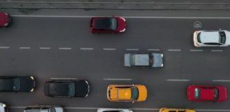 Cevizlibağ: Trafik yoğunluğu havadan görüntülendi