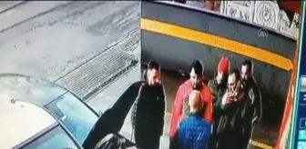 Arbede: Kocaeli'de iki grup arasındaki kavga güvenlik kamerasına yansıdı