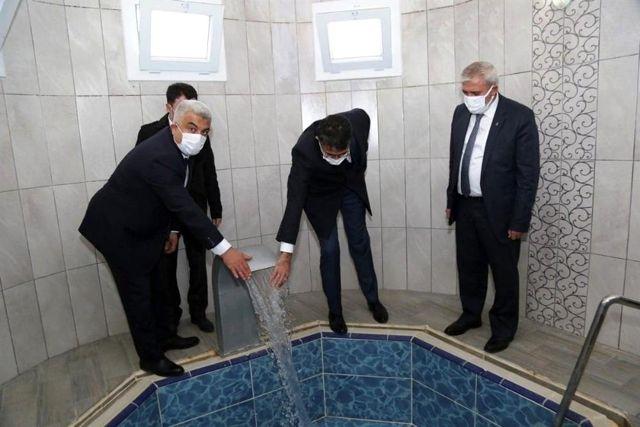 Vali Çelik, Hisarcık'ta yatırımları yerinde inceledi