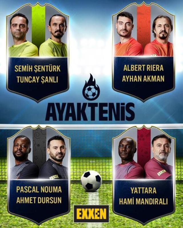 Acun Ilıcalı'nın yeni platformu Exxen'de efsane futbolcular yarışacak