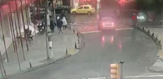 İlçe Emniyet Müdürlüğü: İstanbul'un göbeğinde turist aileye kapkaç dehşeti kamerada