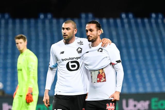 Lille, Burak Yılmaz'ın son dakikalarda attığı golle Montpellier'i devirdi