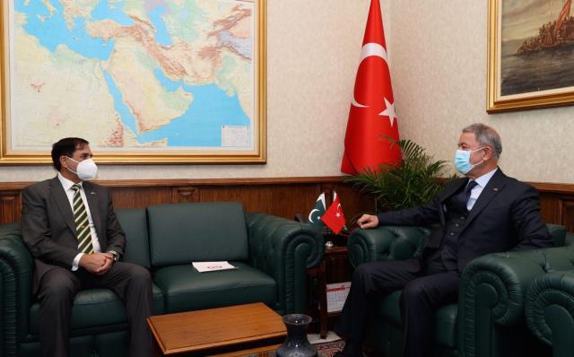 Pakistan-Türkiye Yüksek Düzeyde Askeri Diyalog Grubu'nun 15. toplantısı Ankara'da düzenlendi