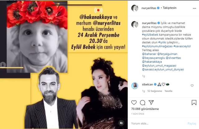 Rahmetli Nur Yerlitaş'ın eşyaları SMA hastası bebeğin tedavisi için satılacak