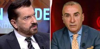 Aihm: CNN Türk'te gergin anlar! Gazeteci Metin Özkan'ın sözlerine sinirlenen Hakan Bayrakçı yayını terk etti