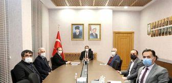 Mustafa Aydın: Dumlupınar heyetinden Vali Ali Çelik'e 'teşekkür' ziyareti