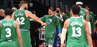 Boston: NBA rekorunun kırıldığı maçta Mavericks, Clippers'ı 51 sayı farkla mağlup etti