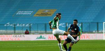 Hüseyin Emre: Süper Lig: Konyaspor: 1 - Çaykur Rizespor: 1 (Maç sonucu)