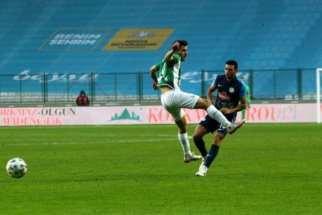 Süper Lig: Konyaspor: 1 - Çaykur Rizespor: 1 (Maç sonucu)