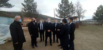 Nurullah Çakır: Vali Çakır, Daday'da incelemelerde bulundu