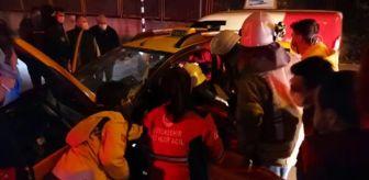Kavaklı: Son Dakika | Beylikdüzü'nde trafik kazası: 2 yaralı