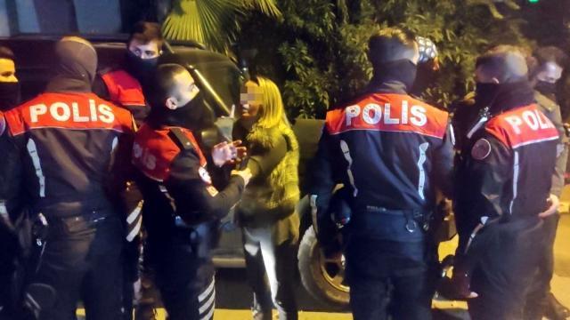 Antalya'da 'dur' ihtarına uymayan avukat ortalığı birbirine kattı