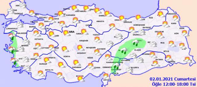 Meteoroloji'den Ege Bölgesi için sağanak yağış uyarısı