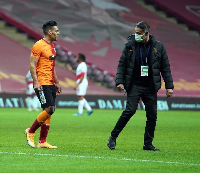Spor yazarları, Antalyaspor maçında yeniden sakatlanan Falcao'yu sert bir dille eleştirdi