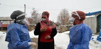 Muş: Son dakika haber   Kar-kış dinlemeyen sağlık çalışanları, köylülerin gönlünde taht kurdu