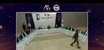 Ali Yalçın: 'Mehmet Akif İnan Ödülleri' töreni