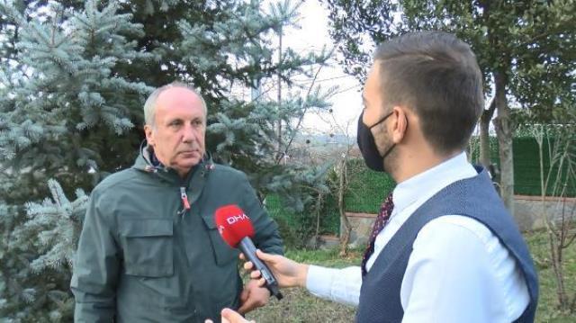 Muharrem İnce'den CHP'den istifa ettiği iddialarına yanıt: Bunun için biraz beklemeniz gerekecek