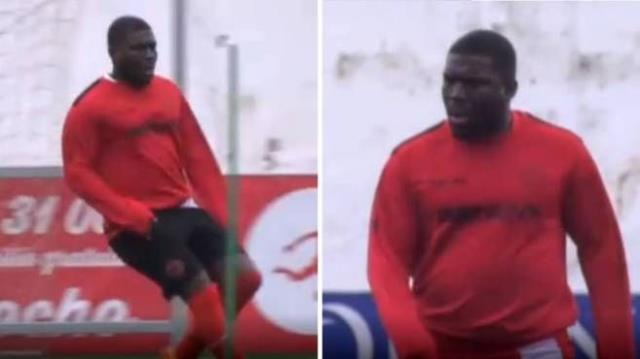 Former Super League star Royston Drenthe drew attention with the weight he gained