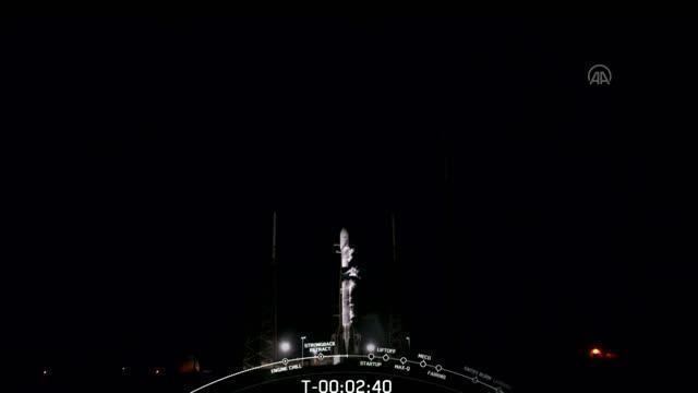 Türkiye için tarihi gün! Türksat 5A uydusu uzaya fırlatıldı