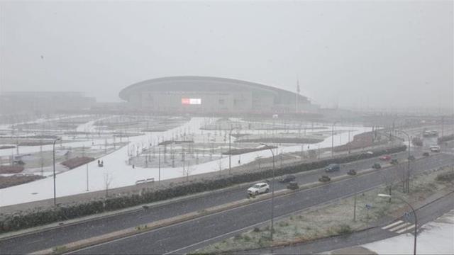 Atletico Madrid-Athletic Bilbao match postponed due to heavy snowfall