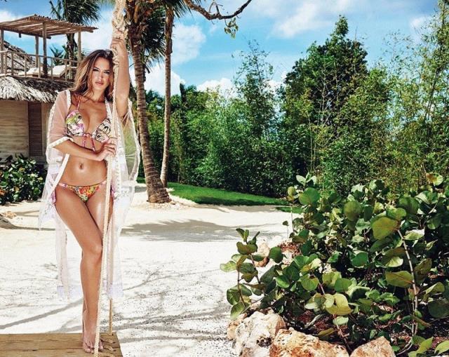 James Rodriguez'in sevgilisi model Lima, doğum gününü bikinili cesur pozuyla kutladı