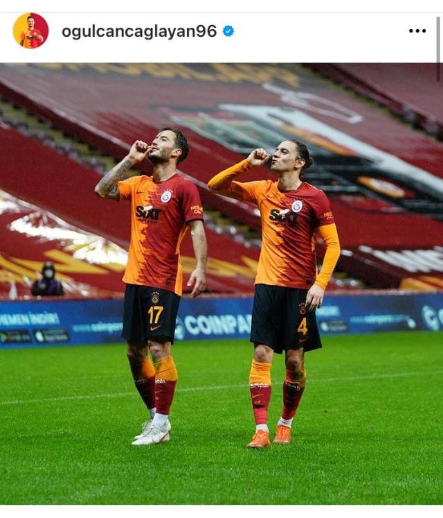 Message of İrfan Can Kahveci from Oğulcan and Taylan!  Joy of goals drew attention