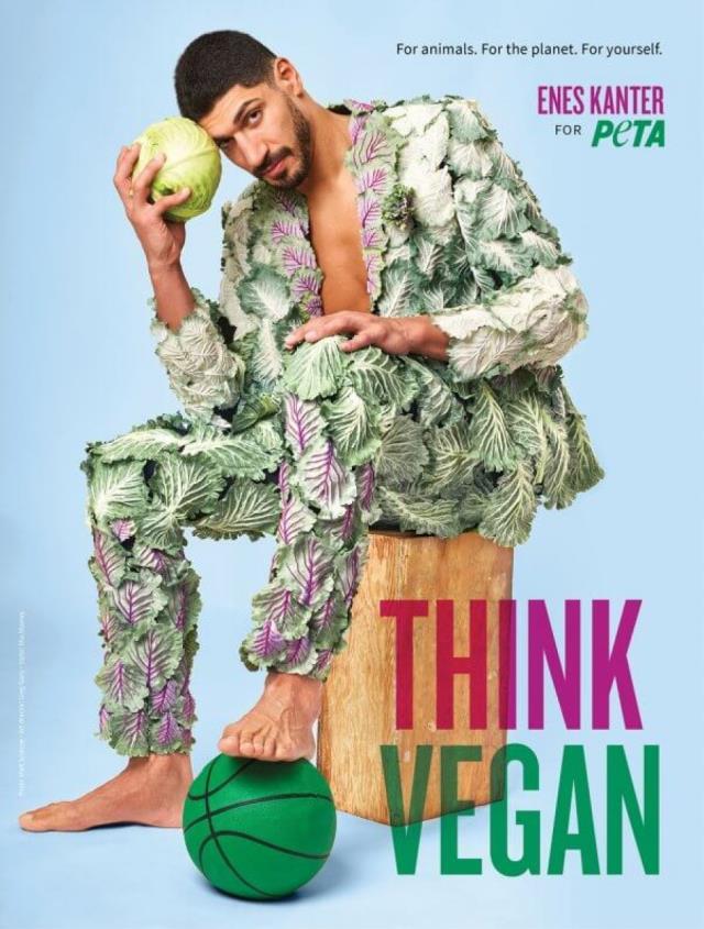Ahmet Hakan sends veganism to FETO member Enes Kanter: Maklubeci becomes tosun lettuce