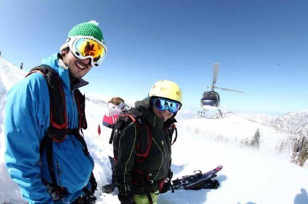 Kayakçıların tercihi Alpler yerine Kaçkarlar oldu