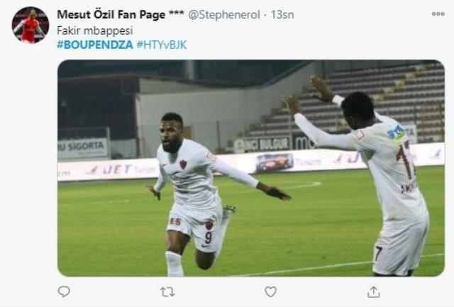 Süper Lig'de 12 gole ulaşan Aaron Boupendza'nın performansı sosyal medyayı salladı