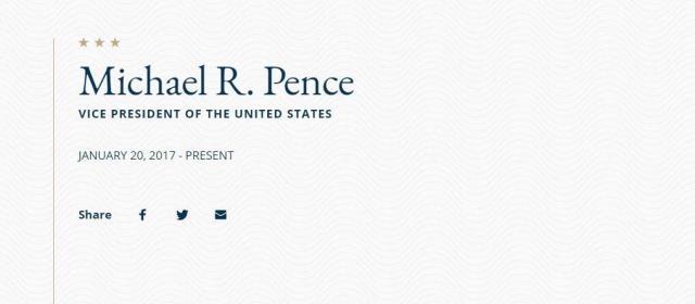 ABD Dışişleri Bakanlığı'nın sitesinde dikkat çeken ifade: Trump ve Pence'in görev süresi doldu