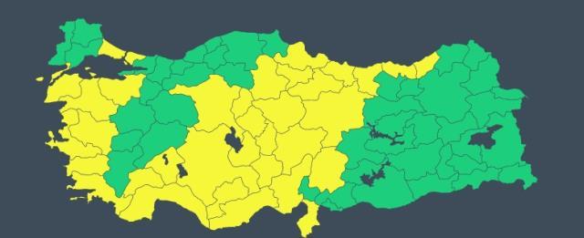 Meteoroloji'den 29 il için sarı kodlu uyarı! Kuvvetli sağanak geliyor