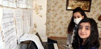 Çukurova Üniversitesi: 9 yaşındaki Cemre'ye piyano festivalinde 'eser' ödülü