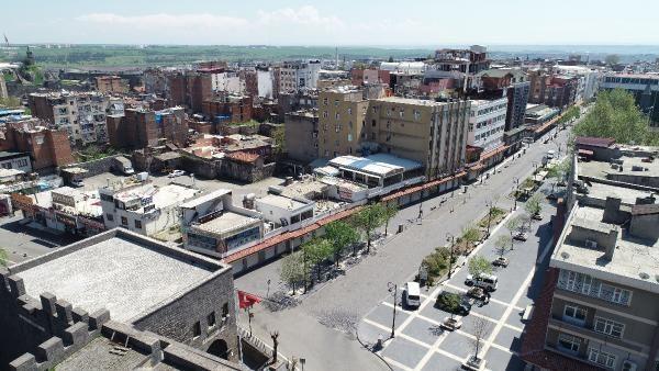 Son dakika haberi: Diyarbakır'ın106 bin nüfuslu Sur ilçesinde pozitif vaka sıfırlandı