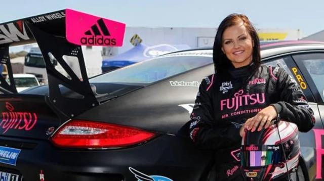 Social media account of ex motor racer Gracie shut down for brave poses