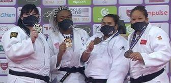Judo: 2021'in ilk madalyası Kayra Sayit'ten bronz