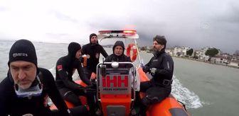 Ümit Çakmak: Denizde kaybolan gencin arama çalışmalarından sonuç alınamadı