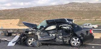 Hilvan: Son dakika: Hilvan'da TIR'la çarpışan otomobildeki baba ile oğlu öldü