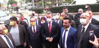 Mustafa Sarıgül: Türkiye Değişim Partisi Genel Başkanı Sarıgül, Mersin'de konuştu