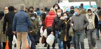Kayseri: Kayseri'de kısıtlama öncesi alışveriş yoğunluğu