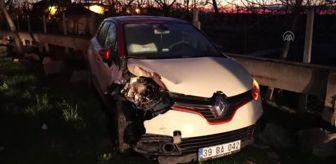 Kırklareli: KIRKLARELİ - Otomobiller çarpıştı, 4 kişi yaralandı