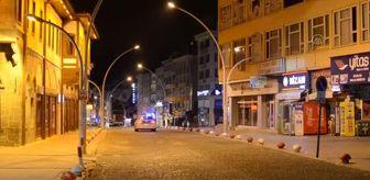 Aksaray: Sokağa çıkma kısıtlaması
