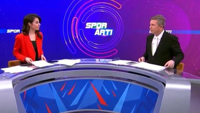 The question of Mesut Özil falling like a bomb on social media from TRT announcer