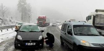 Zonguldak: ZONGULDAK - Kar yağışı etkisini sürdürüyor
