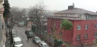 Bayrampaşa: Bazı bölgelerde kar ve sulu kar yağışı görülüyor - Esenler/Beykoz