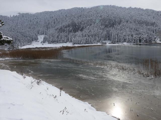 Bolu, eksi 21,8 dereceyle bu gece Türkiye'nin en soğuk ili oldu
